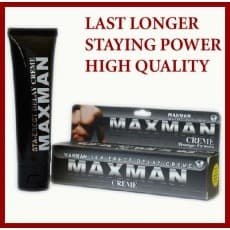 MAXMAN DELAY SEX Gel Available in Pakistan